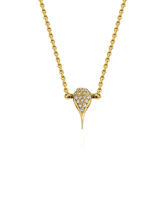 Diamond Scorpion Sting Necklace - Rachel Boston Jewellery