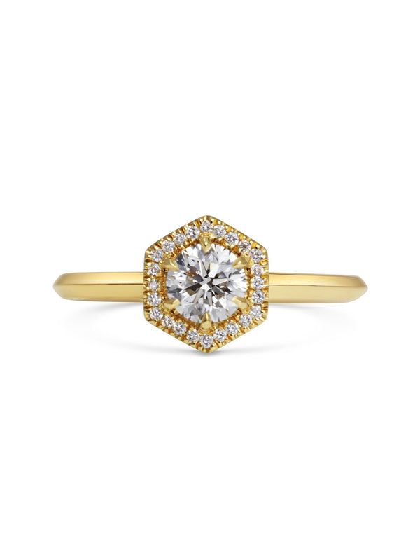Juno Diamond Ring - Rachel Boston Jewellery