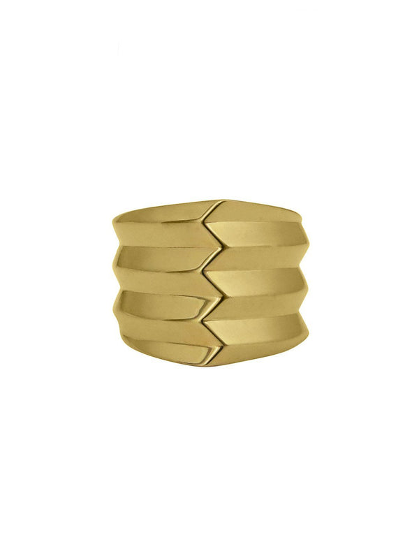 Anceps Ring - Rachel Boston Jewellery