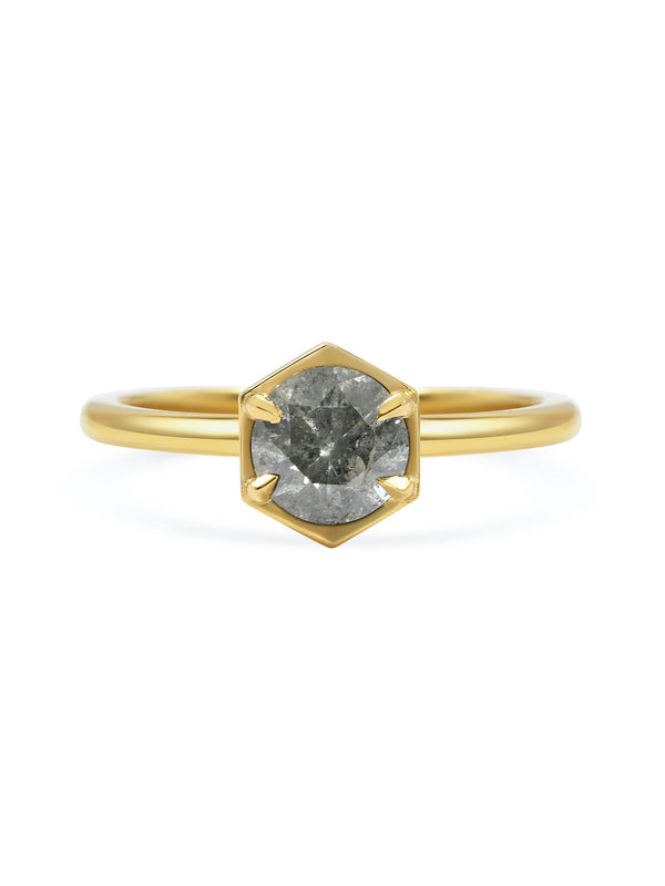 X - Aquila - Light Grey Ring - Rachel Boston Jewellery