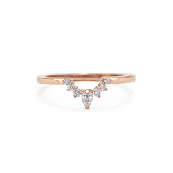Comet Encke Wedding Band