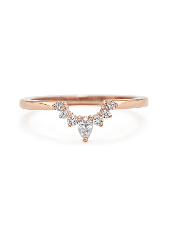 Comet Encke Wedding Band - Rachel Boston Jewellery