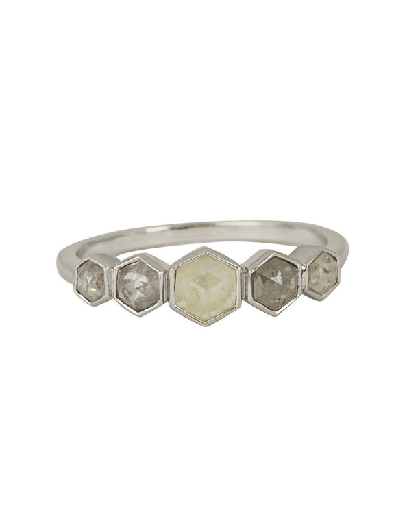 X - Seshat Ring - Rachel Boston Jewellery