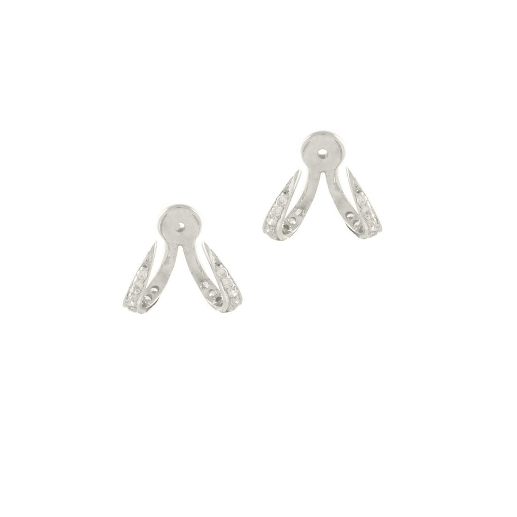 IHWAZ EARRINGS SET WITH DIAMONDS
