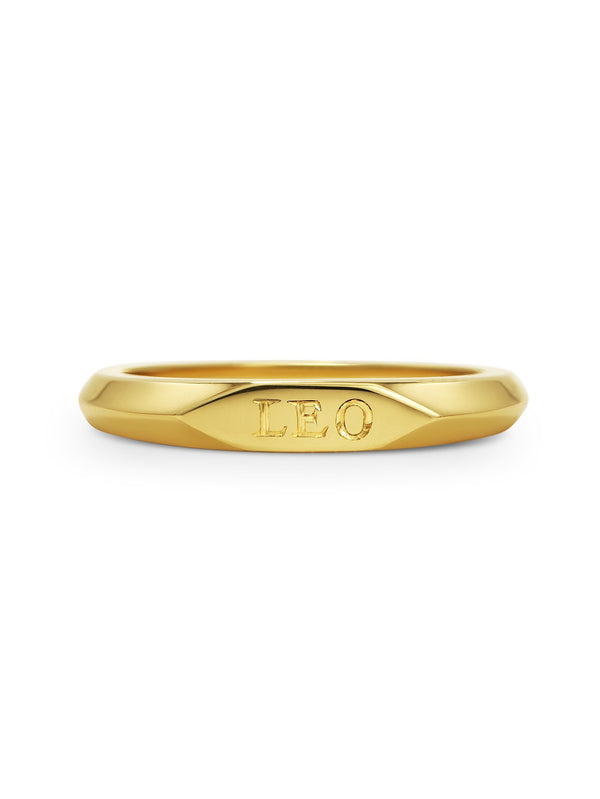 Slim Signet Ring - Rachel Boston Jewellery
