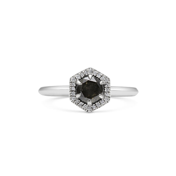 X - Black Diamond Juno Ring