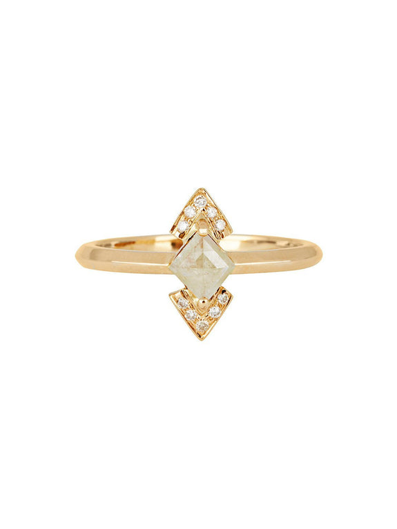 X - Wadjet Ring - Rachel Boston Jewellery