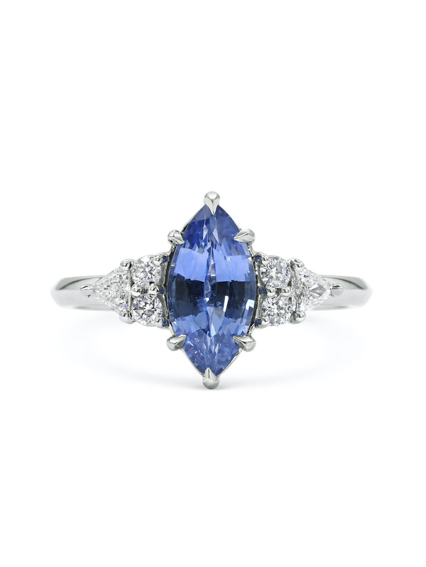 Lois Sapphire Ring - Rachel Boston Jewellery