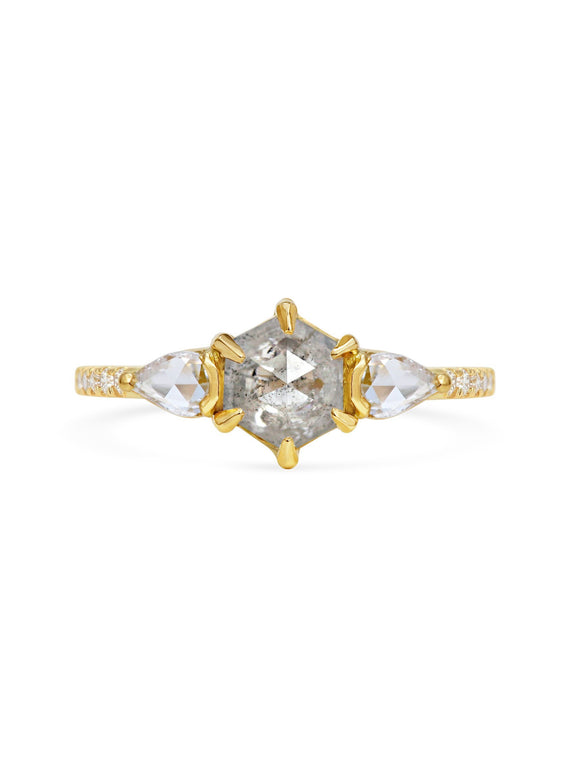 X - Pollux Ring - Rachel Boston Jewellery