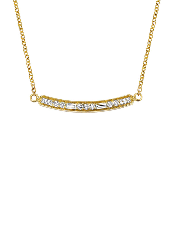 Deco Bar Necklace - Rachel Boston Jewellery