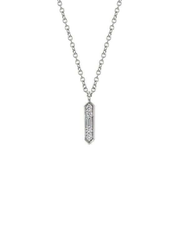 Deco Pendant Necklace - Rachel Boston Jewellery