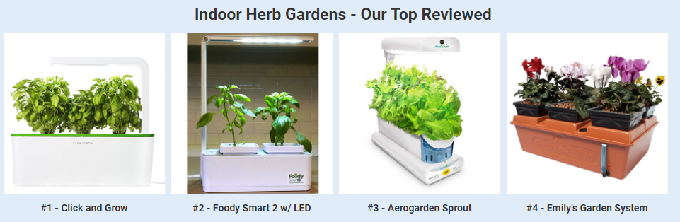Buyer's Guide & Grow Test - Hydroponic Indoor Herb Kits