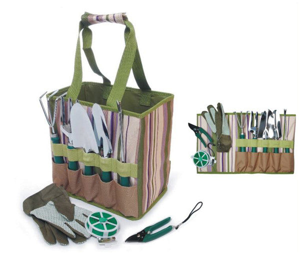 Outdoor Garden Tools w/ Carry Bag