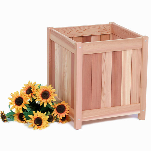 Red Cedar Planter Box - 20""