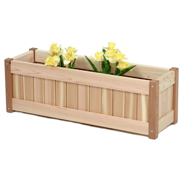 Red Cedar Planter Box - 30""
