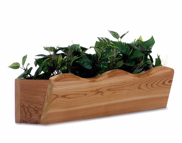 "22"" Cedar Flower Planter Box"