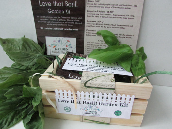 Love that Basil! - Garden Kit