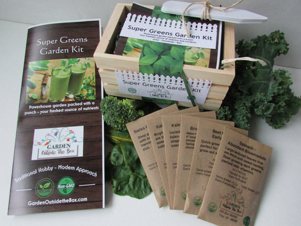 Super Greens Garden Kit