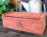 Herb Kit Planter Box - Barn Red