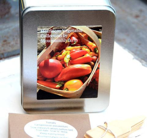 Heirloom Vegetables - Seed & Starter Kit