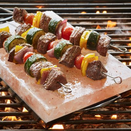 How to Grill with a Himalayan Salt Plate