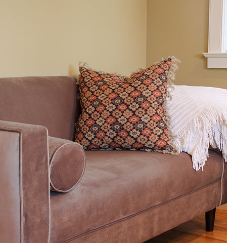 love seat and interior design of a Stowe Kitchen Bath & Linens bedroom