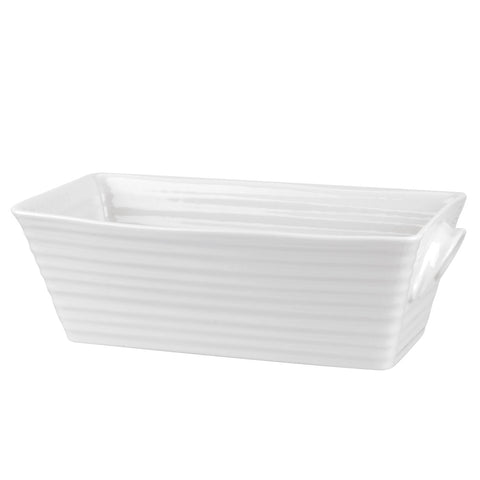 Portmeirion Sophie Conran for Portmeirion White Rectangular Baker
