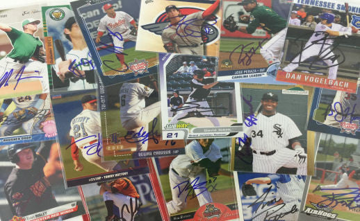 Signed Baseball Cards