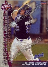 2009 Carolina League Top Prospects Team Set