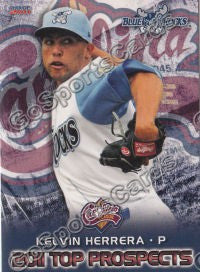 2011 Carolina League Top Prospects Team Set