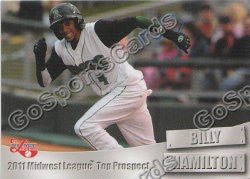 2011 MidWest League Top Prospects Team Set