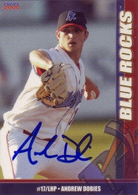 Andrew Dobies 2006 Choice Wilmington Blue Rocks #8 (Autograph)