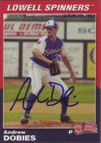 Andrew Dobies 2004 Choice Lowell Spinners #2 (Autograph)
