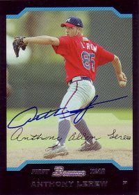 Anthony Lerew 2004 Bowman #221 (Autograph)