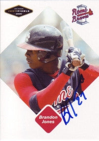 Brandon Jones 2005 Just Minors Justifiable #47 (Autograph)