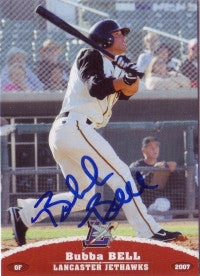 Bubba Bell 2007 GrandStand Lancaster JetHawks (Autograph)