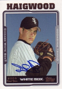 Daniel (Dan) Haigwood 2005 Topps Updates & Hightlights #243 (Autograph)