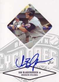 Ian Bladergroen 2004 Just Minors Justifiable #6 (Autograph)