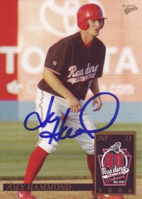Joey Hammond 2006 MultiAd Reading Phillies #9 (Autograph)