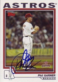 Phil Garner 2004 Topps Traded #70 (Autograph)
