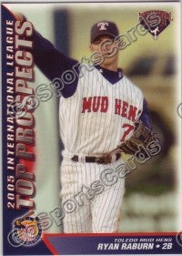 2005 International League Top Prospects #24 Ryan Raburn