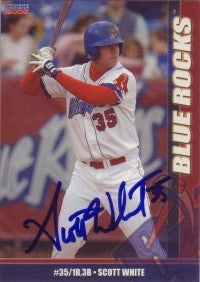 Scott White 2006 Choice Wilmington Blue Rocks #29 (Autograph)