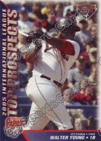 2005 International League Top Prospects #29 Walter Young
