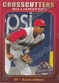 2011 Williamsport Crosscutters Aaron Altherr