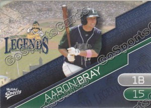 2010 Lexington Legends Aaron Bray