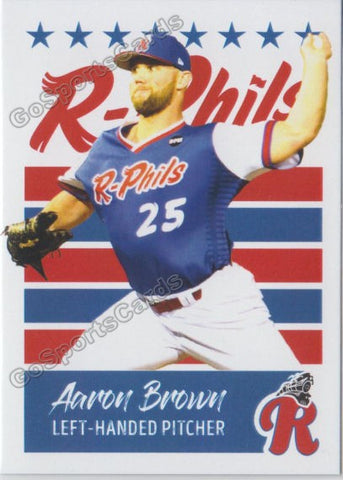 2019 Reading Fightin Phils U3 Aaron Brown