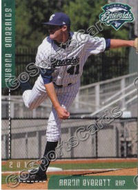 2010 Eugene Emeralds Aaron Everett