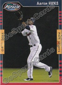 2011 Fort Myers Miracle Aaron Hicks