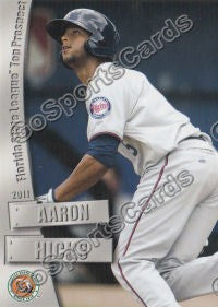 2011 Florida State League Top Prospects Aaron Hicks