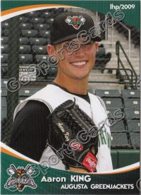 2009 Augusta GreenJackets Aaron King